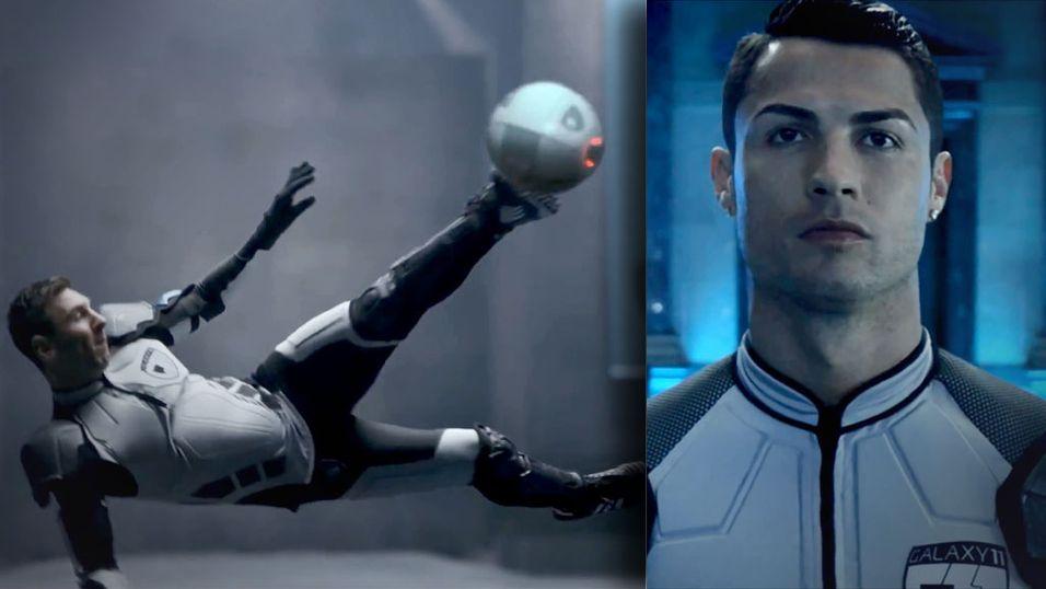 Ronaldo og Messi på samme lag?