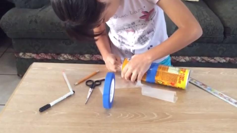Slik lager du et pinhole-kamera av en Pringles-boks