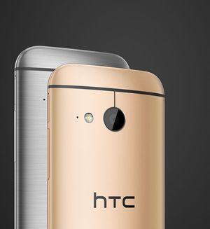 HTC One mini 2 fås i to farger.