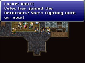 Final Fantasy VI er et eksempel på et spill der opprørere ønsker å gå mot overmakten.