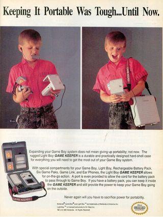 """Det florerte med ekstrautstyr til Game Boy som førte til at begrepet """"bærbar"""" fort ble relativt."""