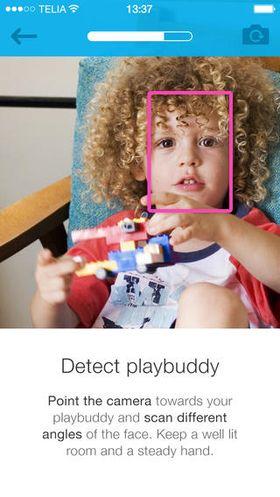 Appen må kjenne igjen ansiktet til barnet ditt for å gi deg tilgang til telefonen igjen.