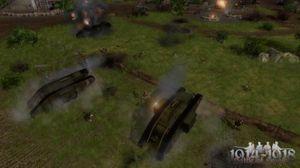 De første stridsvognene var upraktiske beist, men skremte vettet av fienden likevel.
