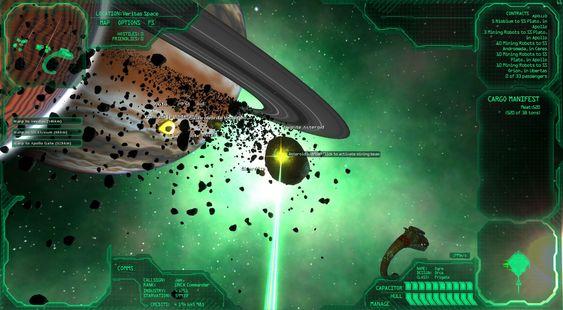 Utvinn metaller fra et av spillets asteroidebelter.