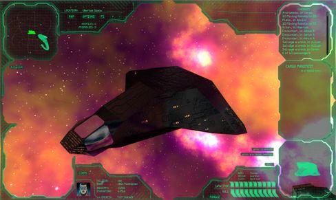 Fly hvor du vil i en rekke forskjellige romskip.