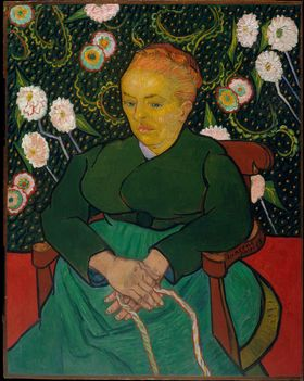 «La Berceuse» av Vincent Van Gogh med en oppløsning på 2965 x 3722 piksler.