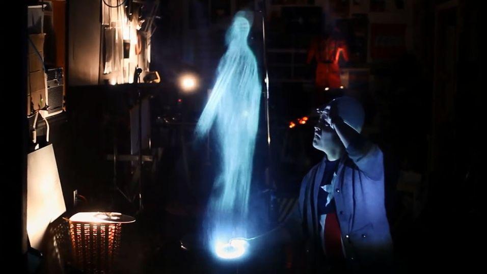 Slik lager du ditt eget hologram