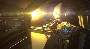 Før krig i verdensrommet med Oculus Rift