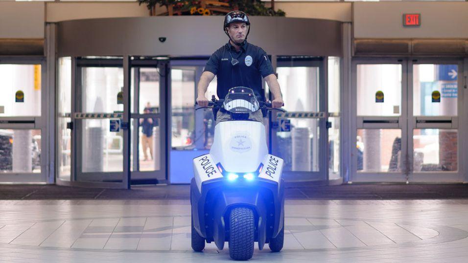 Segway lanserer trehjuling