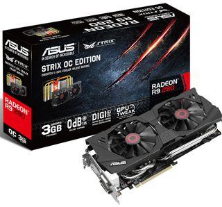 Asus Radeon R9 280 Strix.