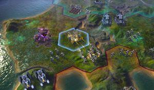 Spillet bruker samme grunnleggende systemer som Civilization 5.