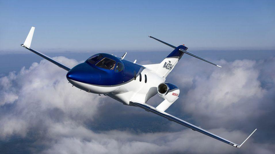 Her er Hondas første jetfly
