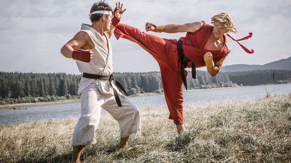 Street Fighter-webserien er lansert