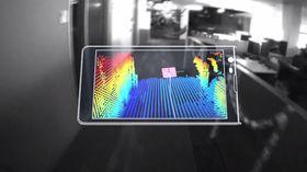 Project Tango-teknologien, som den ryktede Nexus-telefonen fra LG kanskje vil komme med, kan lageavanserte 3D-kart i sanntid.