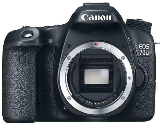 Canon EOS 70D.