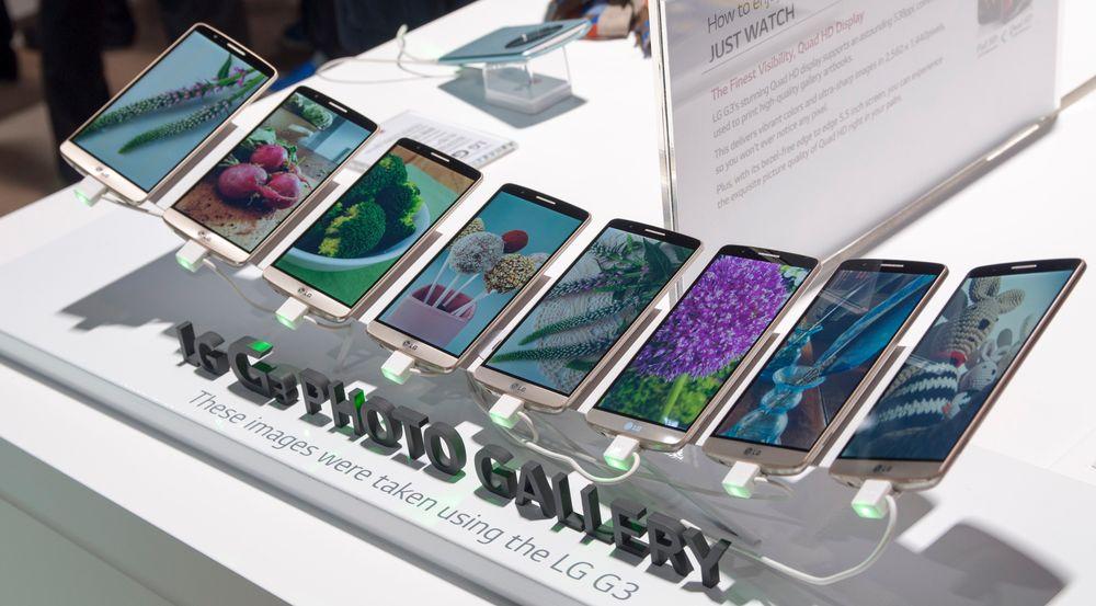 LG har alltid vært flinke til å stille ut produktene sine på lanseringer. Her viser de frem et utvalg bilder tatt med telefonen.