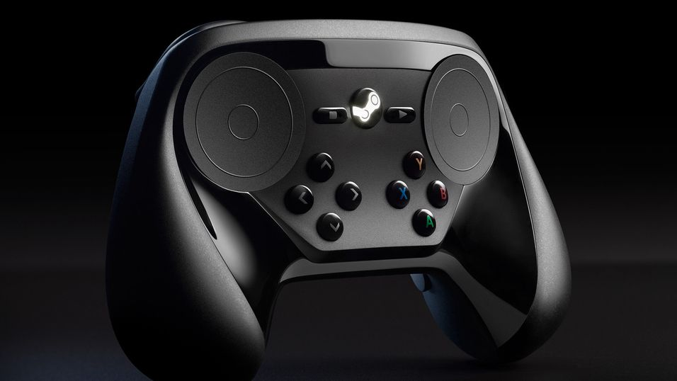 Steam-kontrolleren ser slik ut nå.