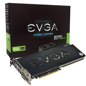 EVGA GeForce GTX Titan Z Hydro Copper kommer med en vannkjølingsblokk allerede fastmontert.