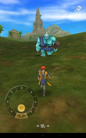 Dragon Quest VIII i mobilformat.