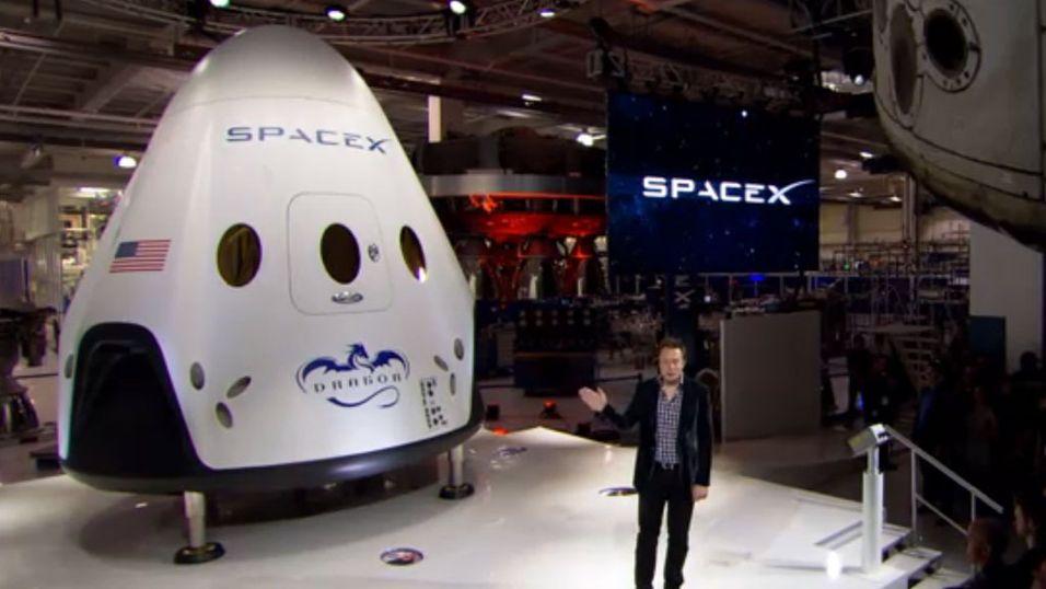 Slik er Tesla-skaperens romskip