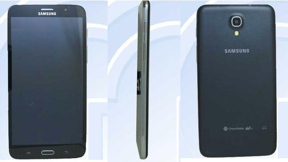 Samsung med gigantmobil eller mininettbrett