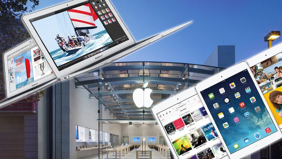 Pengene renner inn for Apple