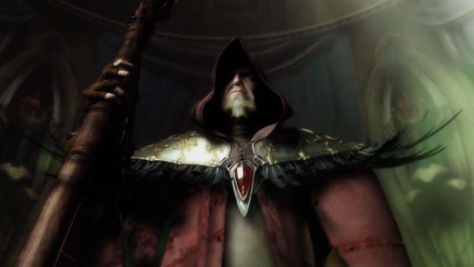 Medivh slik han fremstår i WarCraft III.