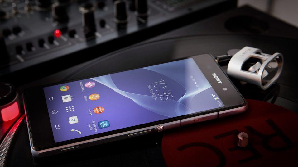 Sony Xperia Z2 blant de mest solgte i mai