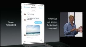 Veldig mye er basert på tilhørighet til en gruppe i nye iOS. Tekstmeldinger til grupper hører naturligvis også til.