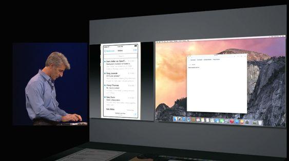 Du skal kunne sende SMS-er og ringe rett fra Mac-en.