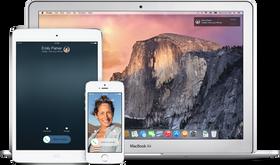 Apple har døpt verktøykassen som gir deg ringing og SMS på tvers av dingsene dine for Continuity. Fra høsten av kan du altså ringe fra både en MacBook og en iPad.