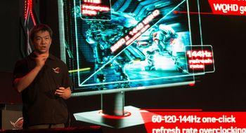 Nå har Asus' lynraske spillskjerm fått norsk pris