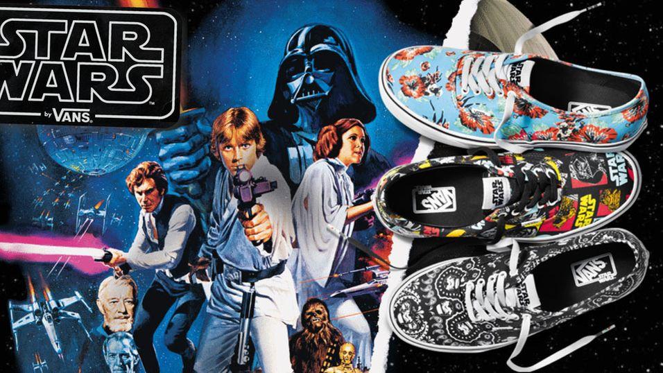 Star Wars-skoene er her