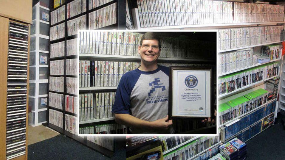 Verdens største spillsamling er til salgs!