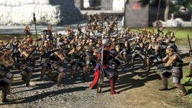 Skjermbilde fra PlayStation 4-utgaven av Samurai Warriors 4.