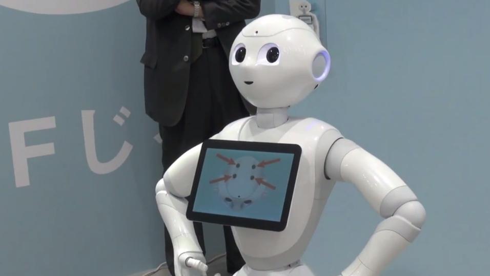 Denne roboten kan lese følelsene dine