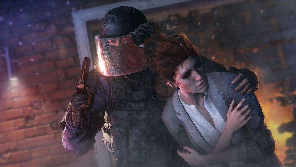 Lek politi og røver i nytt Rainbow Six-spill