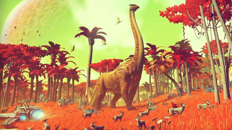 Det ambisiøse romspillet No Man's Sky kommer til PlayStation 4