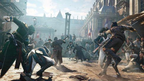 Assassin's Creed Unity skal bli det største spelet i serien så langt.