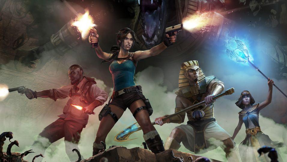 Bli med Lara Croft på et nytt, egyptisk eventyr