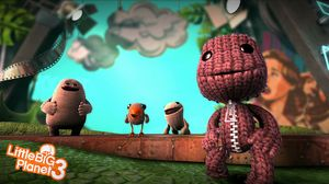 Toggle, Swoop, Oddsock og Sackboy (Skjermbilde: Sumo Digital Ltd/Sony Computer Entertainment).