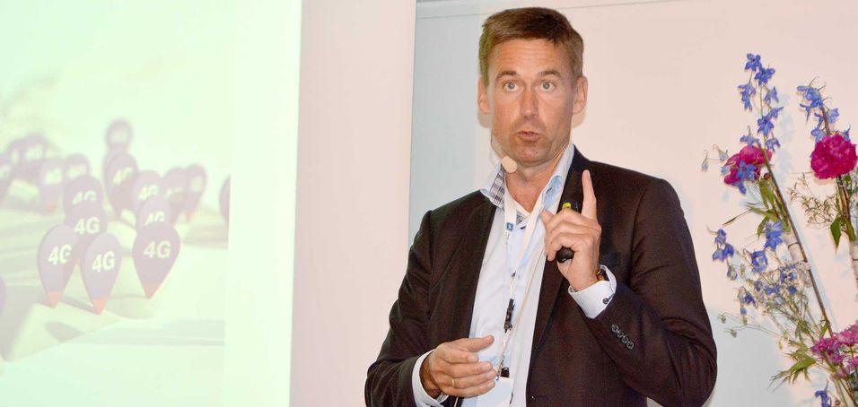 Netcom-sjef August Baumann har sett en ekstrem vekst i mobildatatrafikken de siste månedene, i takt med at selskapet har tatt i bruk 4G i 800 MHz-båndet.