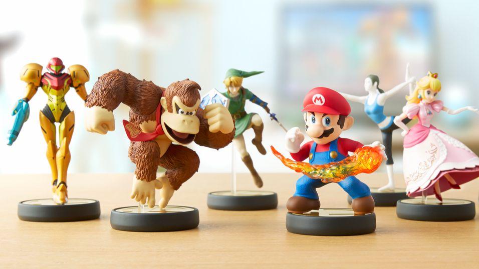 Plastfigurer gir nytt liv til ikoniske Nintendo-figurer