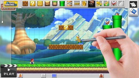 Har blitt lite Super Mario Maker, gitt.