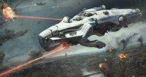 Styr massive, svevende slagskip