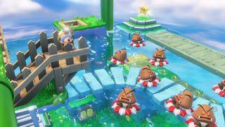 Klar for å jakte på stjerner med Captain Toad? (Skjermbilde: Nintendo).