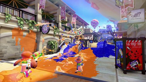 Splatoon.