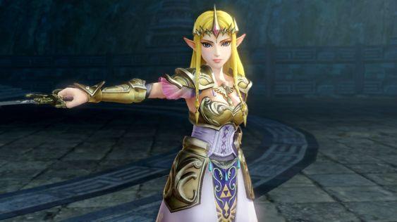 Zelda er en høyst kapabel slåsskjempe.