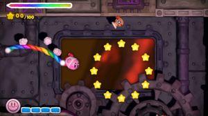 Kirby And The Rainbow Curse er ett av den lille rosa ballens nyeste eventyr.