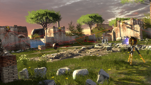 Robotfilosofi i The Talos Principle.